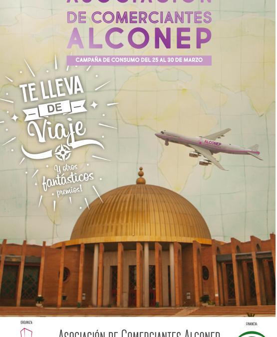 La Asociación de Comerciantes de Edificios Aleste, Compostela y Neptuno, ALCONEP, sortea un viaje y grandes premios entre los clientes de la zona comercial.